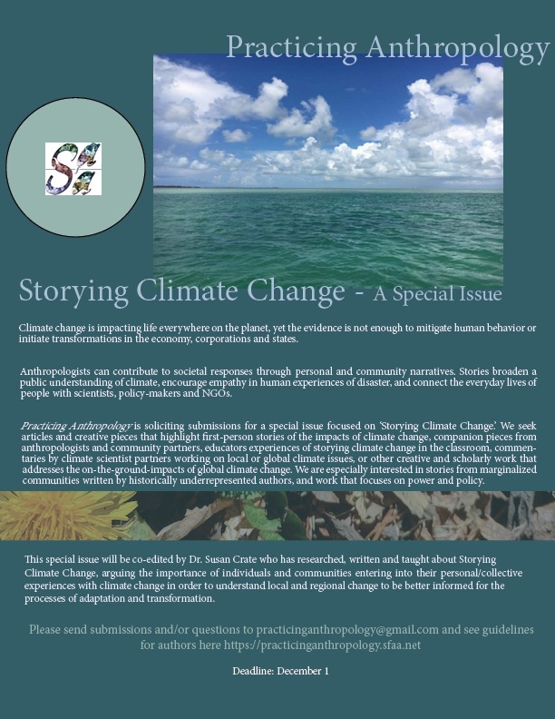 Storying Climate Change - Call for Submissions